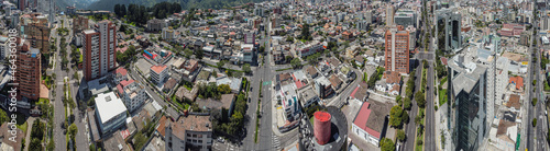 Foto panorámica avenidas