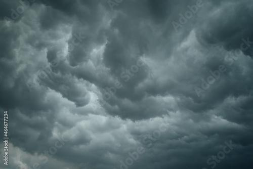 Tablou Canvas Before heavy rain storm