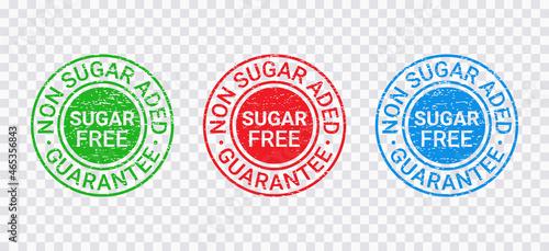 Photo Sugar free grange stamp